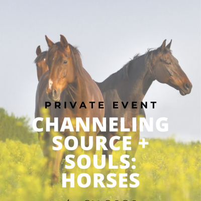 Private Event: Channeling Source + Souls: Horses